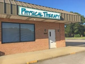 Bayview Physical Therapy Storefront in the Oceanview section of Norfolk, Virginia